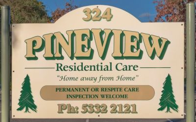 Pineview sign